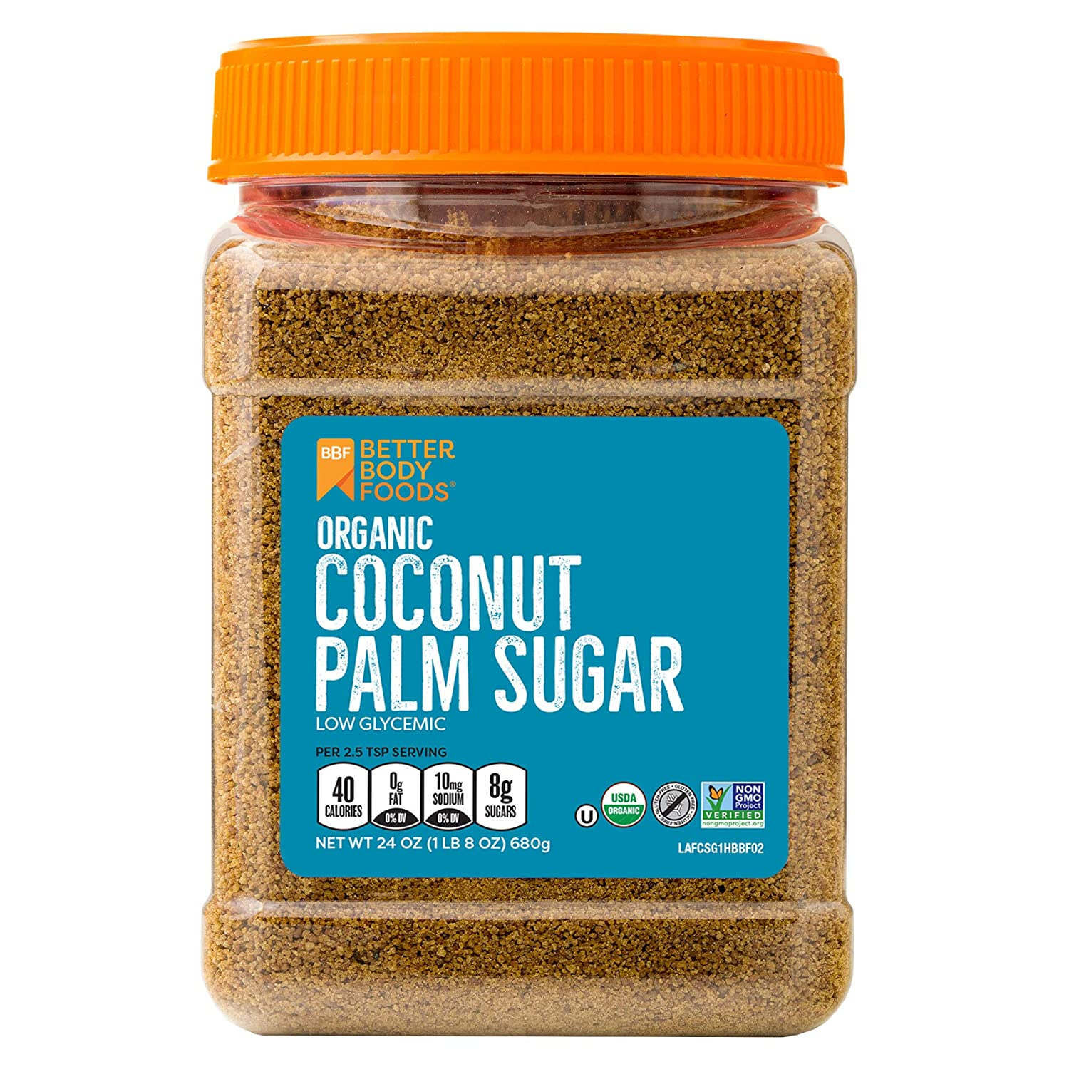 Organic Coconut Palm Sugar Gluten Free Non Gmo Sweetener Substitute 24 Ounce Amazon Com Grocery Gourmet Food