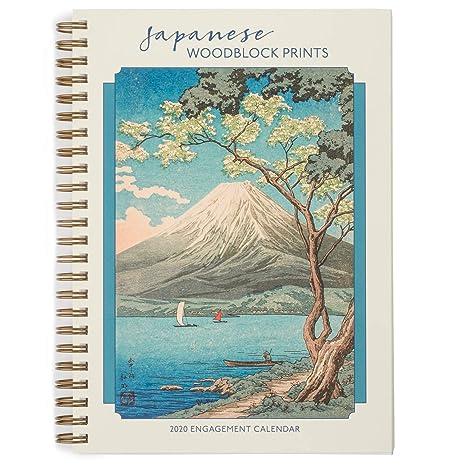 Amazon.com: Woodblock Prints 2020 - Agenda japonesa: Office ...