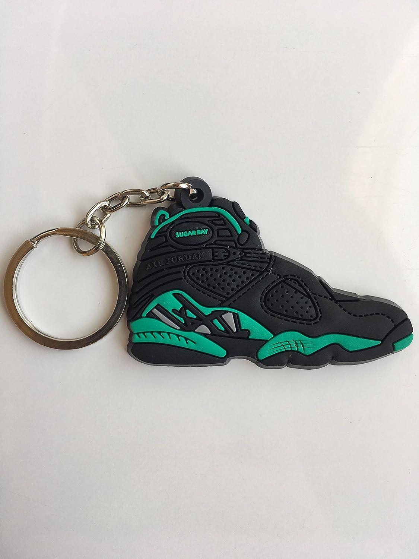 Amazon.com : Jordan Retro 8 Ray Allen PE Sneaker Keychain ...