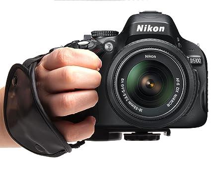 Correa Correa acolchada cámara compatible con Nikon D5100, D3100 ...