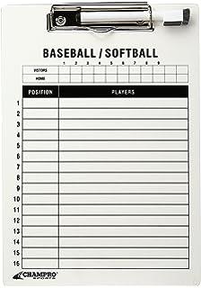 baseball lineup card template excel