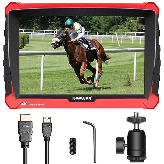 Neewer NW-A7S Monitor de Campo de Cámara con Caja Silicona:7 ...