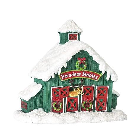 Amazon.com: Darice Mini Renos Estable Casa: Decorativo ...