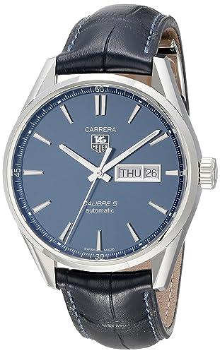 TAG HEUER RELOJ DE HOMBRE AUTOMÁTICO 41MM CAJA DE ACERO WAR201E.FC6292: TAG Heuer: Amazon.es: Relojes