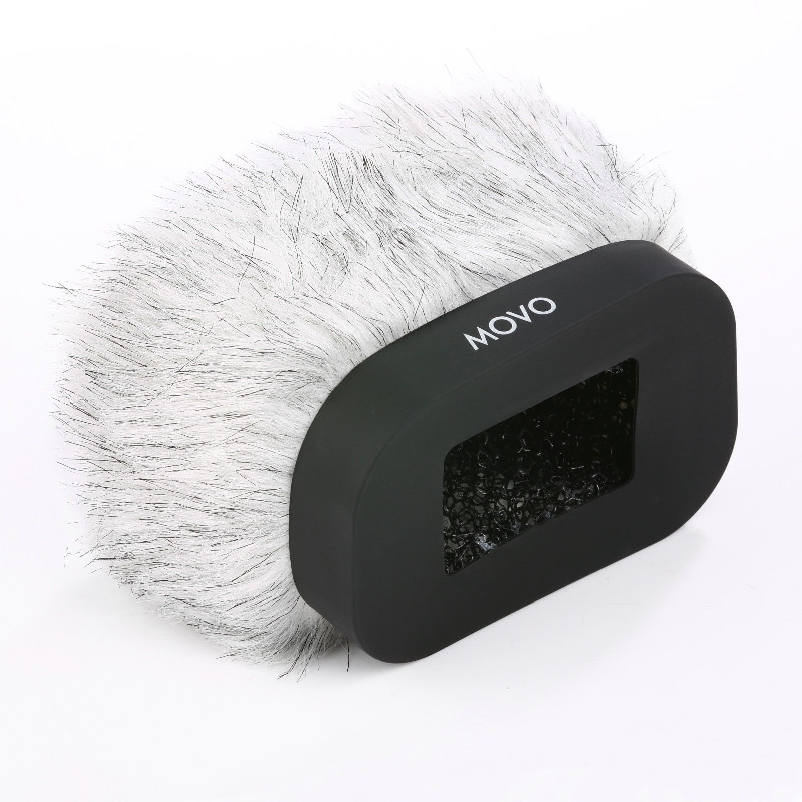 Movo WS-R30 Professional Furry Windscreen with Acoustic Foam Technology for Zoom H4n, H5, H6, Tascam DR-100 MKII and Sony PCM-D50 Portable Digital Recorders by Movo