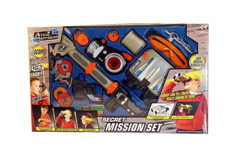 A to Z Spy Squad Secret Mission Set by A to Z