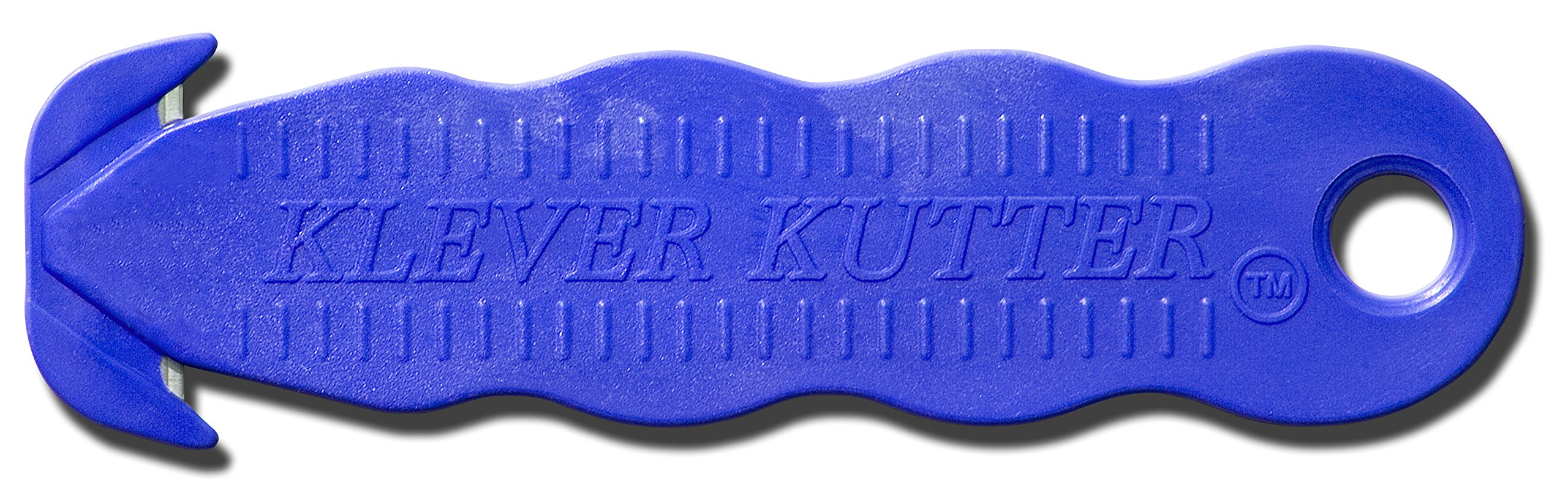 Box Cutter, Klever Kutter 100 Pack - Safety Cutter - Blue by Klever Kutter