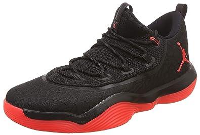 03f80c6b43f Nike Men s Jordan Super.Fly 2017 Low Black Infrared 23 Basketball Shoes-11