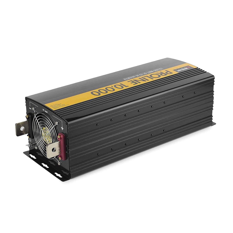 12 Volt Converter >> Wagan Black El3748 12v 10000 Inverter With Remote Control 20000 Watt Surge Peak Proline 12 Volt Power Converter For Home Rv Camping Van Life Off
