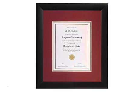Amazon.com: Milburn Diploma Frame, Linear 13\