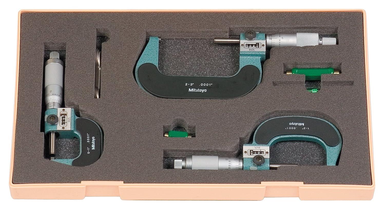Digital Counter Outside Micrometer Range 1-2 Inch Graduation 0.0001 Inch