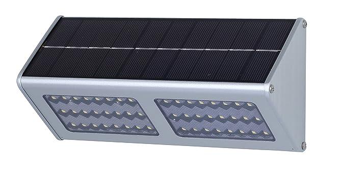Giddah Luz de solar con Sensor de movimiento de 900lm 48LED para el patio, jardín