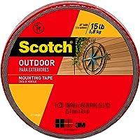 3M Scotch Cinta de montaje para exteriores    mm x   .  m