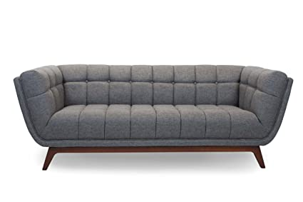 Amazon.com: Myers Goods Modern Mid Century Parma Sofa ...