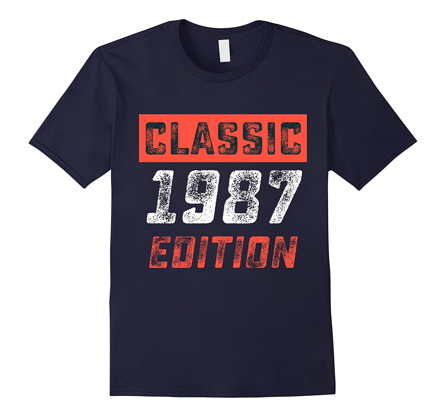 Classic 1987 Shirt 30 Years Old 30th Birthday Gift-FL