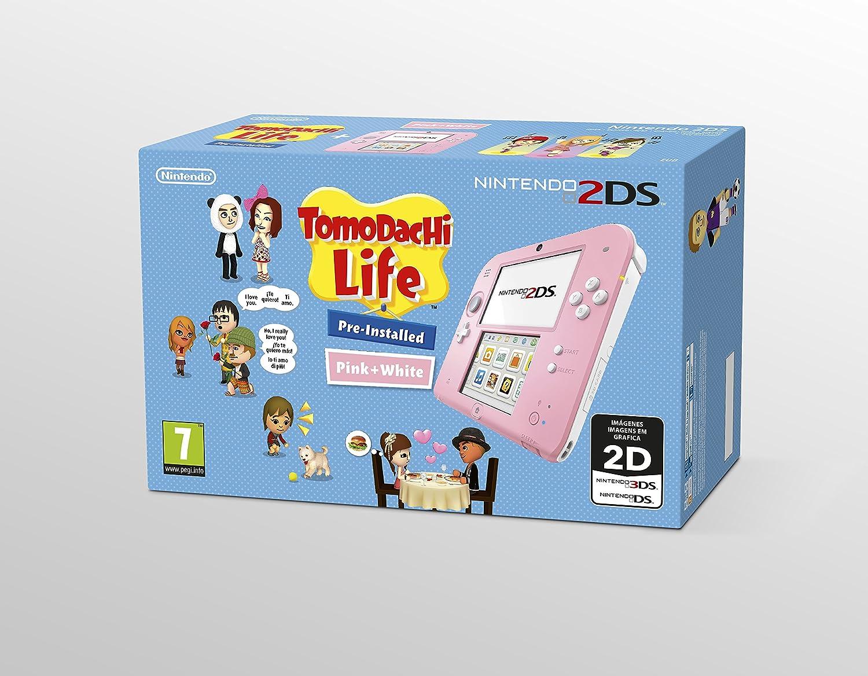 Nintendo 2DS - Consola, Color Azul + New Super Mario Bros 2 ...