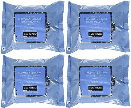 Neutrogena maquillaje Remover Limpieza towelettes 25 ct