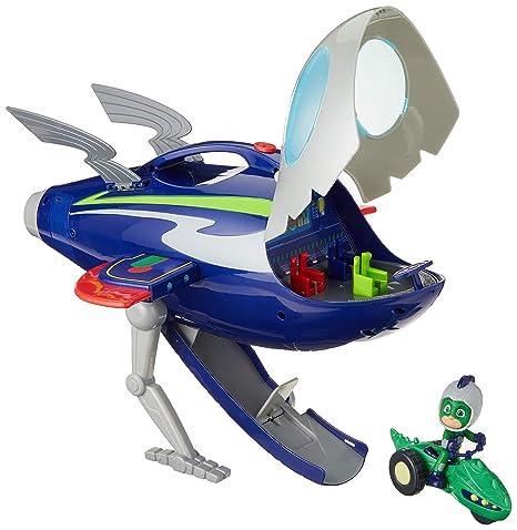 Amazoncom Pj Masks Super Moon Adventure Hq Rocket Toys Games