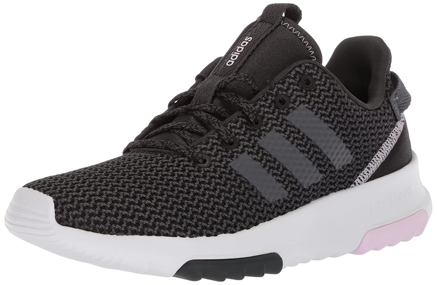adidas Originals Women's Cf Racer Tr W Running Shoe B072FGJV99 5.5 B(M) US|Carbon/Grey Five/Aero Pink