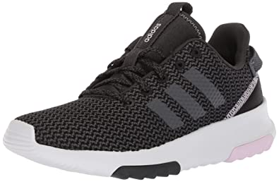 new concept ae956 0f91a adidas Women s CF Racer TR W Running Shoe, carbon grey five aero pink