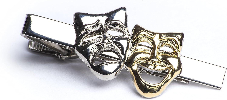 Gifticuff - Juego de alfiler de Corbata con diseño de máscaras de ...
