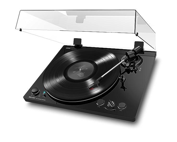 ION Audio PRO100BT - Giradiscos Automático Activado por Bluetooth con 2 Velocidades Seleccionables de la Placa Giratoria (33 1/3 y 45 RPM), ...
