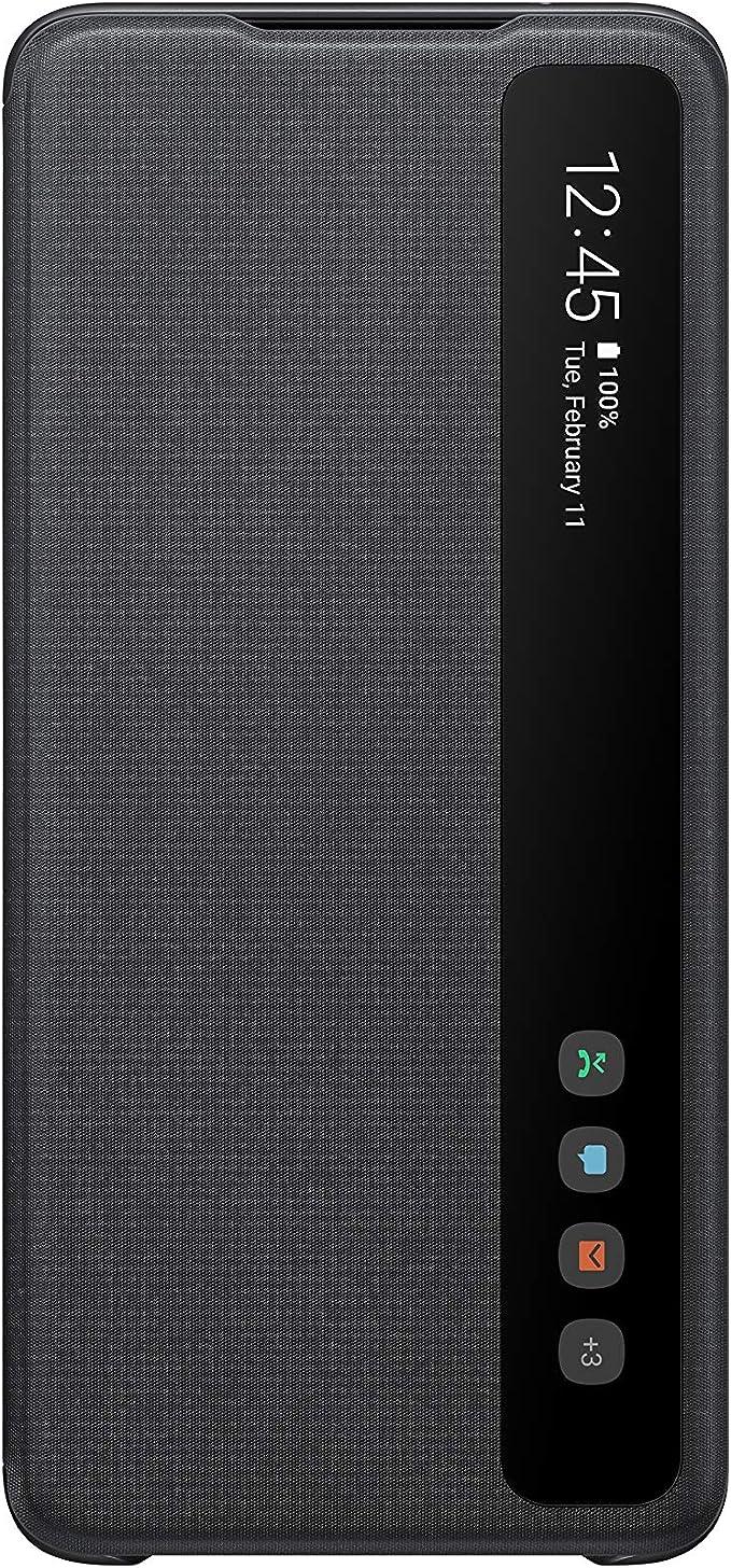 Samsung Clear View Cover Ef Zg988 For Galaxy S20 Ultra Black Elektronik