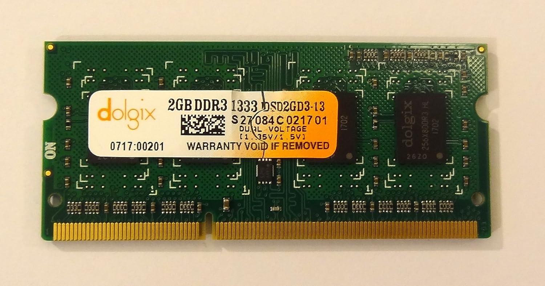 Dolgix 2GB DDR3 1333 MHz Laptop RAM