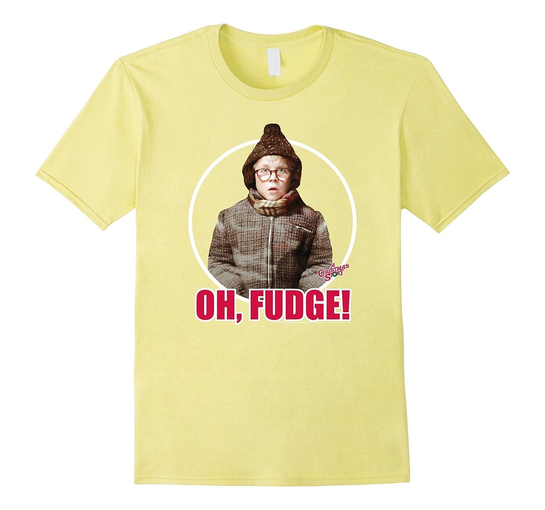 Ripple Junction A Christmas Story Oh, Fudge! T-Shirt-Art – Artshirtee