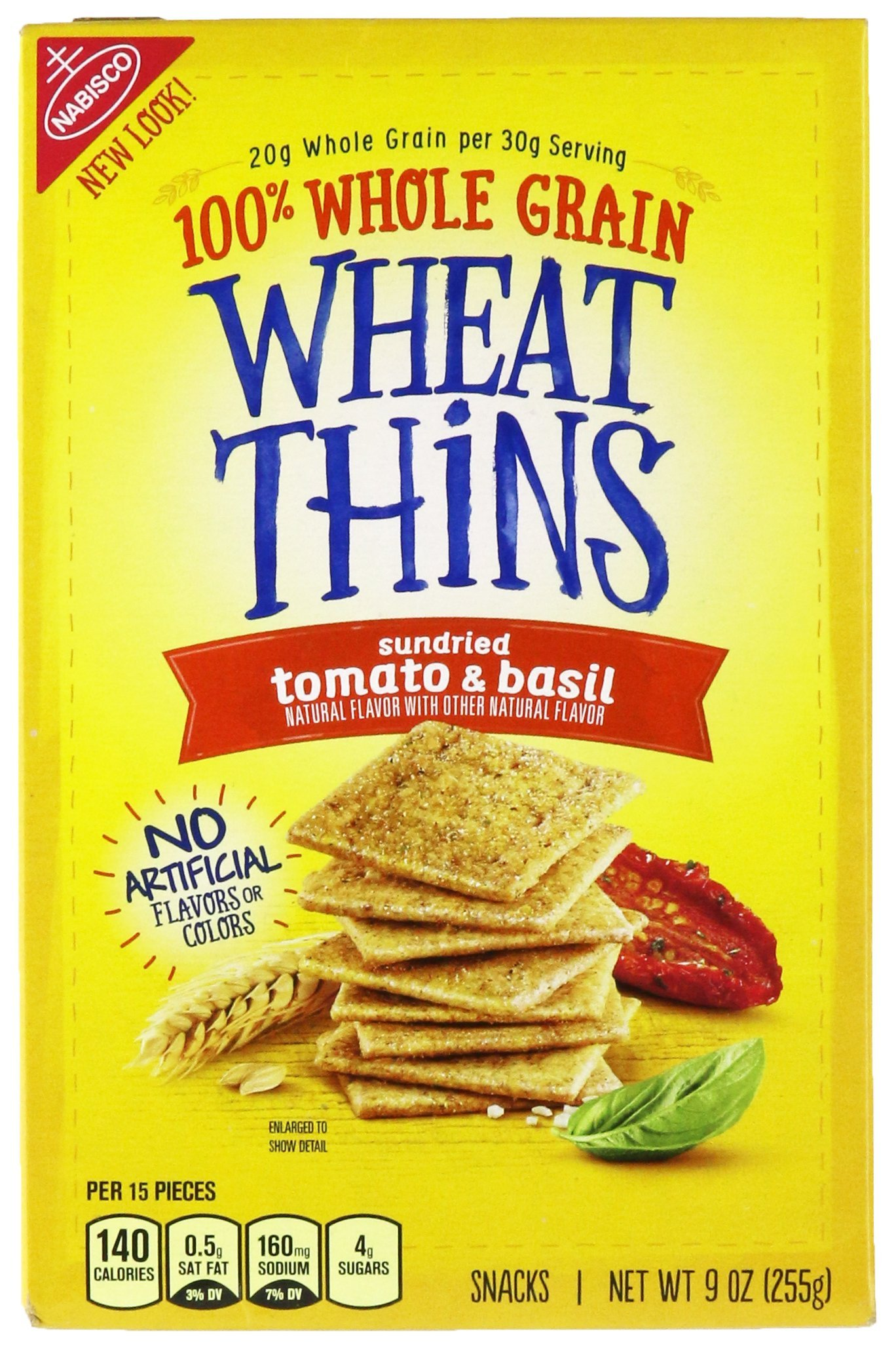 Wheat Thins, Sundried Tomato & Basil, 9 oz