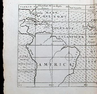 First Map Of Australia.Amazon Com Halley World Trade Winds 1709 Moll First Meteorological