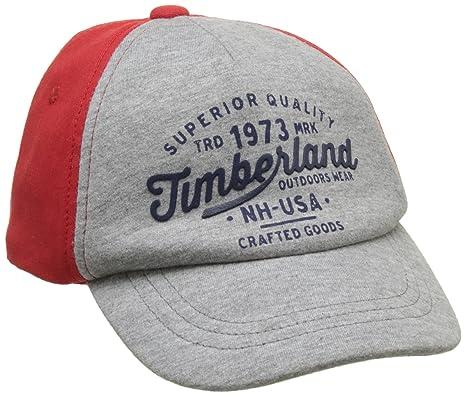 Timberland T01257, Casquette Bébé garçon, Rouge (New Red), FR (Taille 39d7f5a70eb
