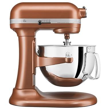 KitchenAid KP26M1XCE 6 Qt. Professional 600 Series Bowl-Lift Stand Mixer - Copper Pearl