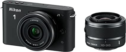 Nikon 1 J1 Systemkamera 3 Zoll Schwarz Inkl 1 Nikkor Kamera