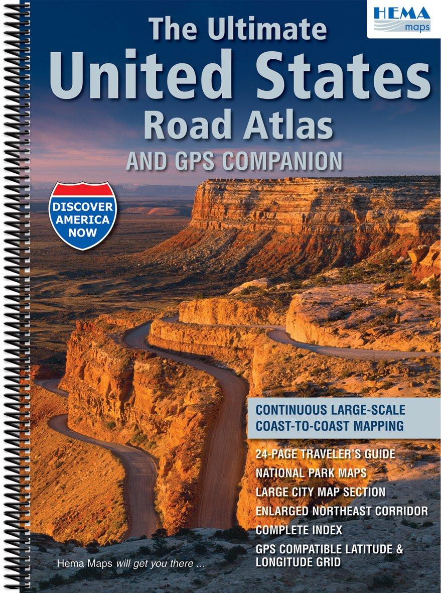 HEMA United States Road Atlas: Hema: 9781934006740: Amazon.com: Books
