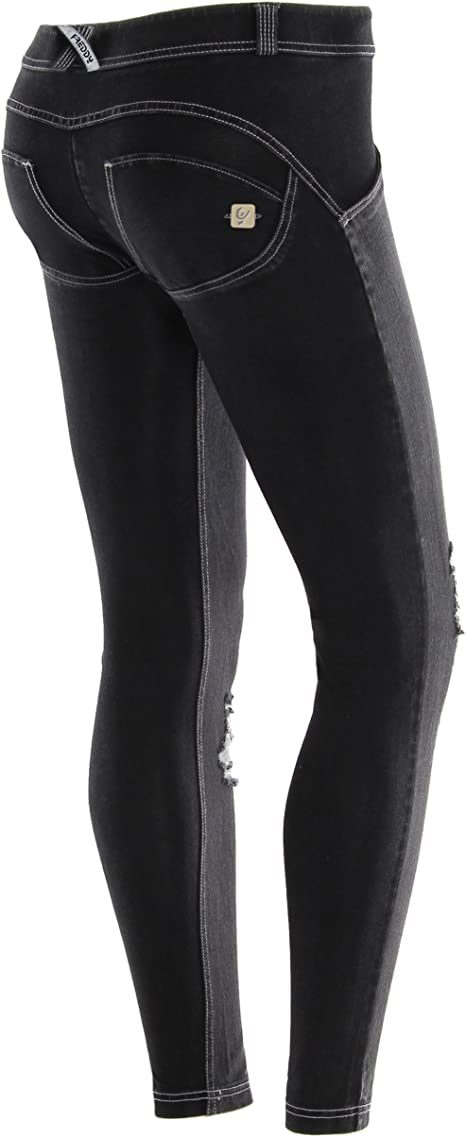 Freddy WR Low Waist Skinny Pantalones Largos, Mujer