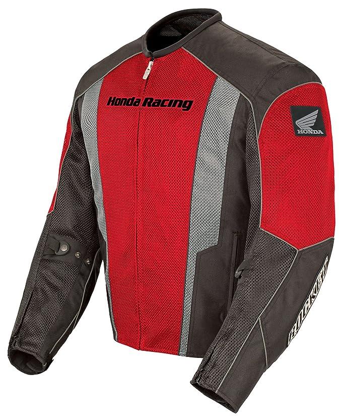 Joe Rocket Honda CBR Hombres Chaqueta De Moto De La Calle De Malla Racing - rojo/negro: Amazon.es: Coche y moto