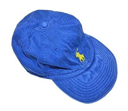 4fad731cc Polo Ralph Lauren Men's Baseball Cap (One Size, Blue) at Amazon Men's  Clothing store: Polo Ralph Lauren Pony Logo Hat Cap