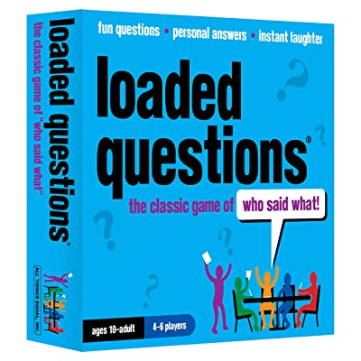 Loaded Questions - The Family/Friends Version of the Classic Game of 'Who Said What': Toys & Games