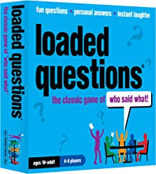 63399acf316 Loaded Questions - The Family Friends Version of the Classic Game of  Who  Said