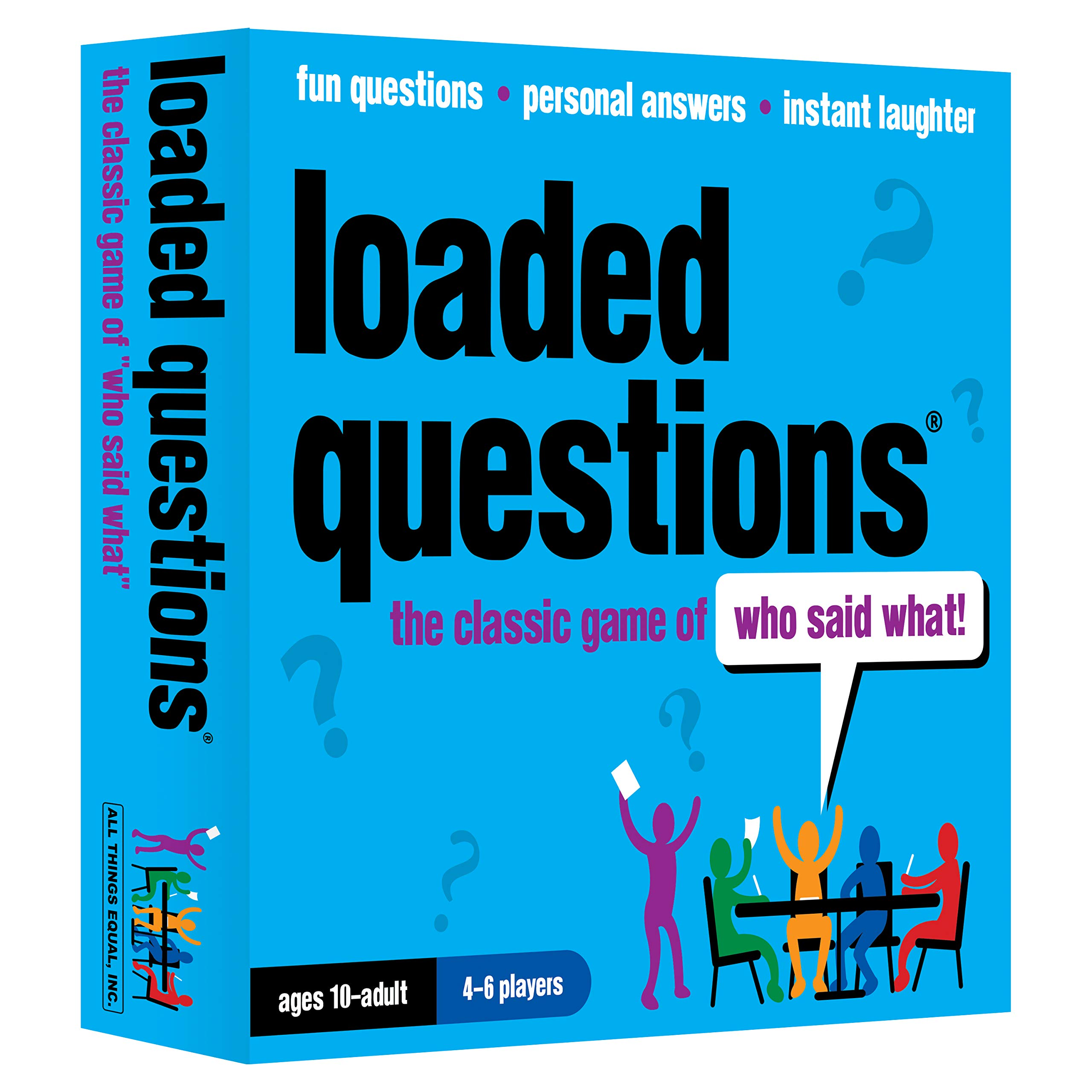 Loaded Questions – The Family/Friends Version of the Classic Game of 'Who Said What'