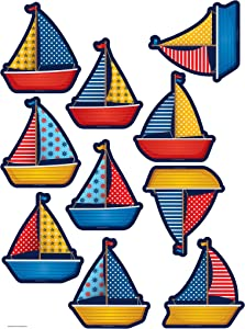 Teacher Created Resources Sailboats Accents (5656)