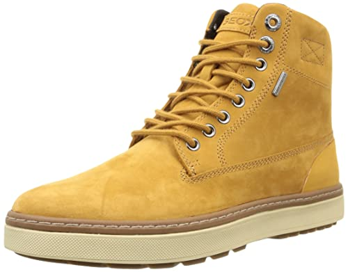 Geox U Mattias B Amphibiox - Botas de Cuero Hombre: Amazon.es: Zapatos y complementos