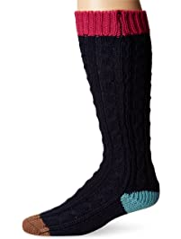 MUK LUKS womens Muk Luks Women's 15'' Knee High Socks Casual Sock