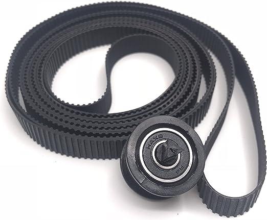 OKLILI C7769-60182 - Cinturón de Transporte para HP DesignJet 500 500PS 510 510PS 800 800PS Plus 4500 820 T1100 MFP 4020 T620 T1200 (24 Pulgadas): Amazon.es: Informática