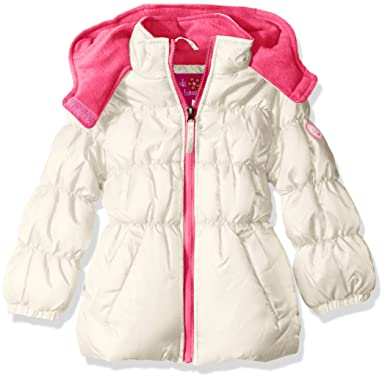 4113296ad Amazon.com  Pink Platinum Girls  Ripstop Puffer  Clothing