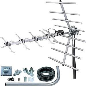 SLx 27887K4 Kit Digital TDT Antena 32 Elementos de Plata: Amazon.es: Electrónica
