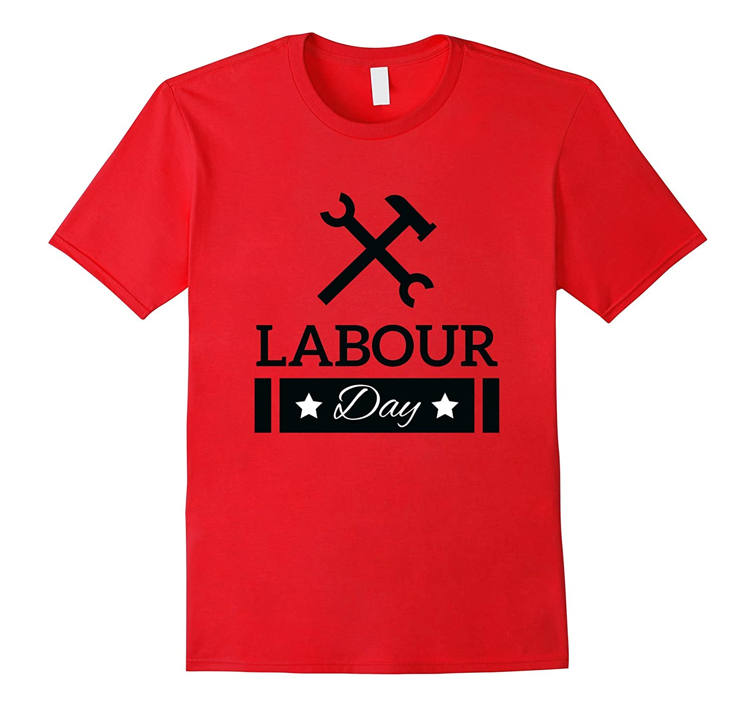 Labour Day With Hammer and Wrench Shirt-BN