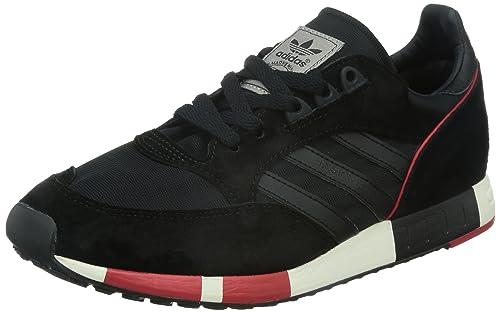 pretty nice ae238 73a3c Adidas Boston Super, Core BlackCore BlackCollegiate Red, 13,5 Amazon.es  Zapatos y complementos