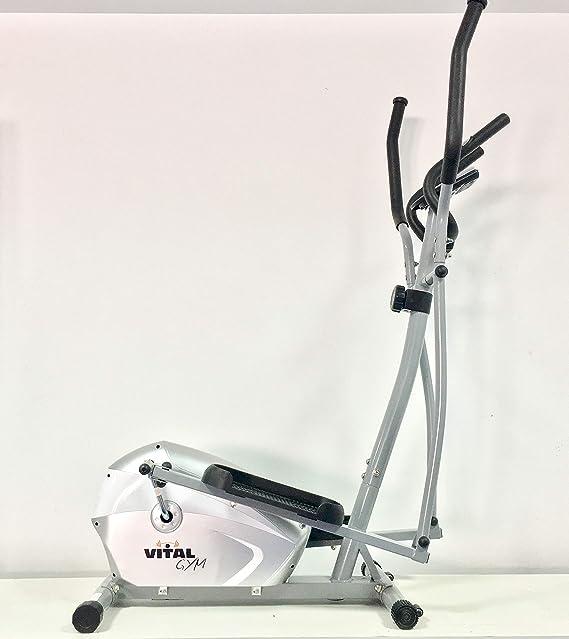 VITAL GYM H7 Bicicleta Elíptica, Adultos Unisex, Multicolor, Talla Única: Amazon.es: Deportes y aire libre